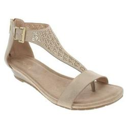 Kenneth Cole Reaction Womens Great Gal 3 T-Strap Wedge Sanda