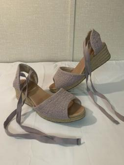 UGG Women's Lavender Wedge Sandals Size 9!