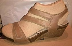 womens sandals 16644 hevely ordo beige leather