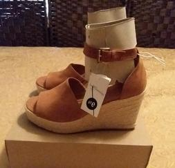 Womens Universal Thread Shoes Espadrille Wedge Sandals Heels