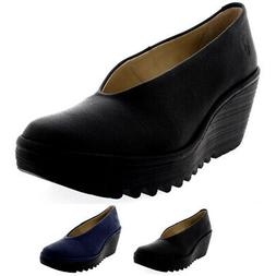 womens yaz mousse smart leather slip on
