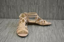 LifeStride Yacht Wedge Sandal, Women's Size 8M, Soft Taupe N