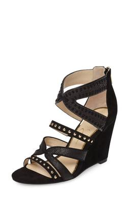 Women's Jessica Simpson Zenolia Strappy Embellished Wedge, S
